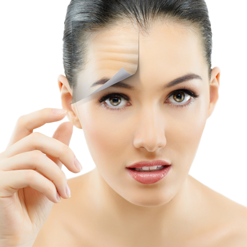 acne scars wrinkles indication