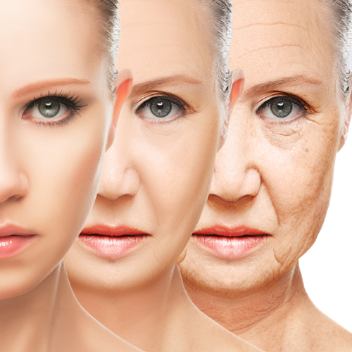 reverse skin aging indication