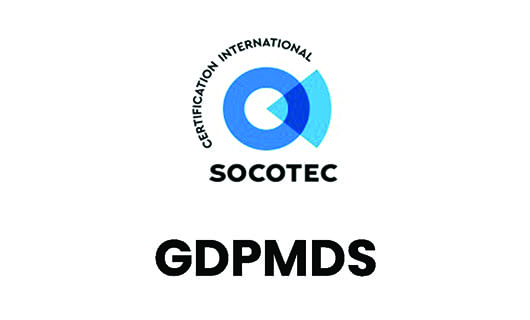 We are GDPMDS Certified!
